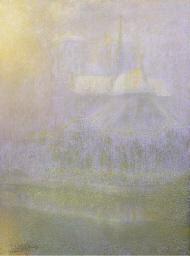 Neige au chevet de Notre Dame
