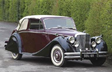 1950 3.5 LITRE JAGUAR MK V DRO