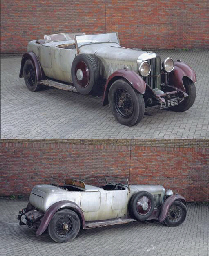 1931 BENTLEY 8 LITRE DUAL COWL