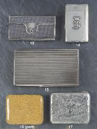 A Russian Silver and Niello Ci
