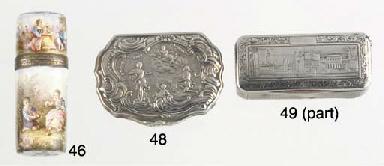 A French Silver Snuff Box