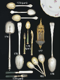 A Set of Six Victorian Silver