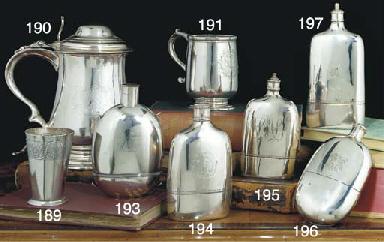 A George II Silver Spirit Flas