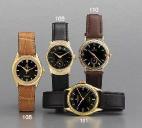 Rolex. A fine 18K gold wristwa