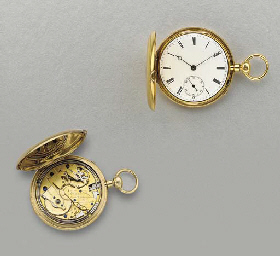 French. A rare and unusual 18K
