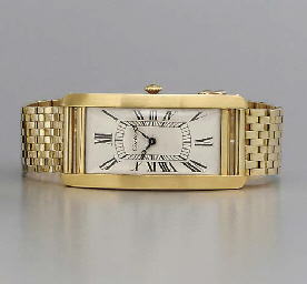 Cartier. A large and rare 18K