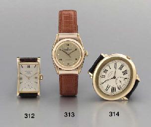 Rolex. A fine 18K pink gold se