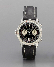 Breitling. An oversized stainl
