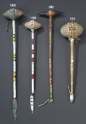 A SIOUX BEADED AND QUILLED STO
