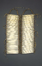A PLAINS MAN'S BREASTPLATE