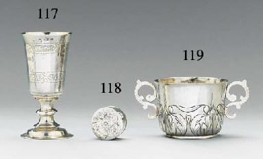 An Elizabeth I silver chalice