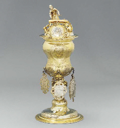 A German silver-gilt Bakers' g
