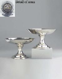 A Dutch silver tazza