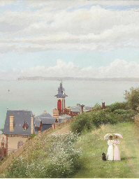 A stroll by the coast, Trouvil