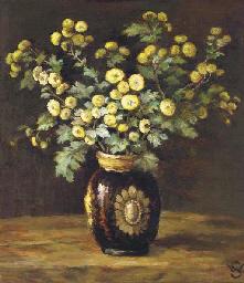 Fleurs en souvenir à l'aimable
