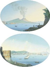 A family at the Bay of Naples,