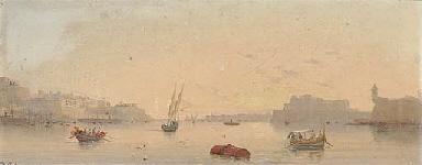 The Grand Harbour, Valetta, Ma