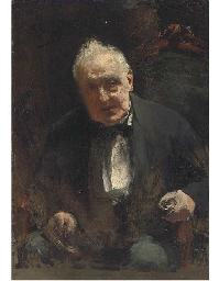 Study of a seated gentleman