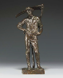 Maquette for 'The Mower'