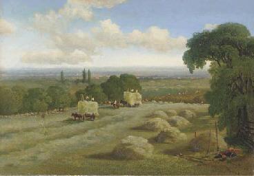 Harvest time, Hampstead