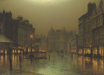 The Royal Mile, Edinburgh: the