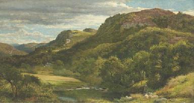 The River Llugwy, Bettws-y-Coe