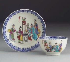 Various items of English porce