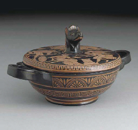 A Naples Etruscan-style two-ha