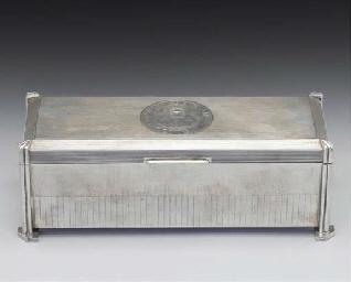 A Modern Silver Freedom Box