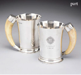 A Set of Four George VI Silver