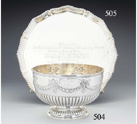 A George V Silver Presentation