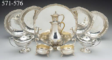 A Pair of George II Silver Ent