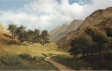 'Paysage au Servas', Switzerla
