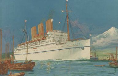 The S.S.Empress of Japan