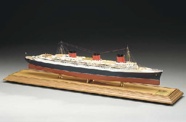 A scale model of the S.S. Norm