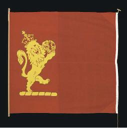 A Cunard Line house flag circa