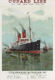 Cunard Line Campania and Lucan