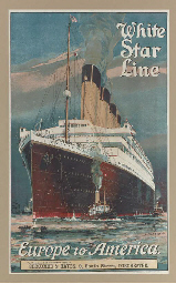 White Star Line Europe to Amer