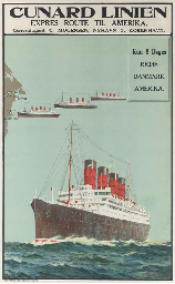 Cunard Linien Express Route Ti