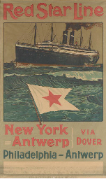 Red Star Line New York Antwerp