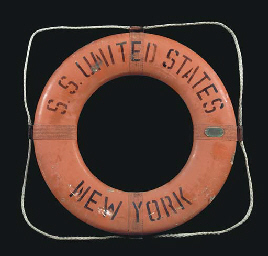 A life ring for the S.S. Unite