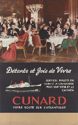 Cunard Line, Detente et joie d