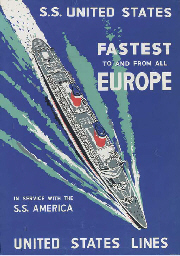 S.S. United States Fastest to