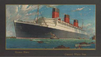 Queen Mary Cunard White Star L