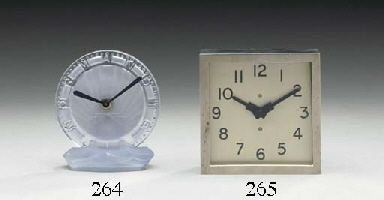 A crystal clock from the maide