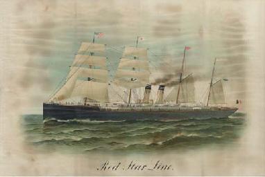 Red Star Line sail/steam vesse