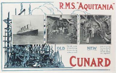 Cunard Line, The R.M.S. Aquita