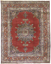 A fine Moud carpet, East Persi