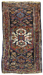 An unusual antique Veramin rug