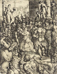 Martyrdom of Saint Lucy (Griff